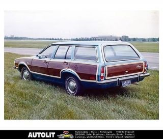 1973 ford pinto woodie station wagon factory photo time left