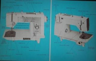 Montgomery Ward UHT J 1276 Sewing Machine Manual On CD