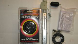 FUEL GAUGE AND MATCHING SENDING UNIT #2800 AND 8038 BY MAKE WAVES
