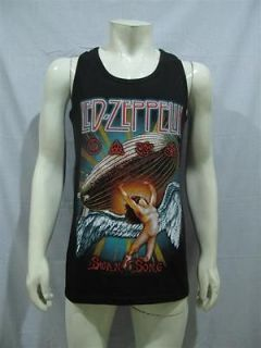 led zeppelin zoso swan song t shirt tank top mens l