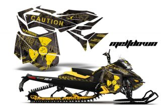 2013 Ski Doo Rev XM Summit Graphic Kit Snowmobile Sled Sticker Wrap