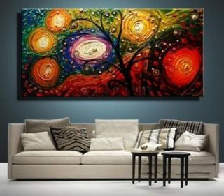 Abstract Huge Large Canvas Art Oil Painting No Frame G381