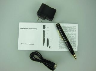 Mini 8GB USB Spy Pen Recorder DVR Video Hidden Camera DV pen 8GB
