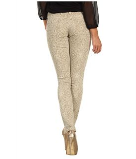 lucky brand charlie skinny coated sparkle jean $ 129 00