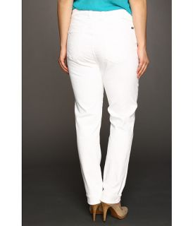 lucky brand plus size ginger straight jean in pearl $