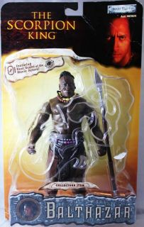 The Scorpion King Balthazar Action Figure Michael Clarke Duncan   NEW