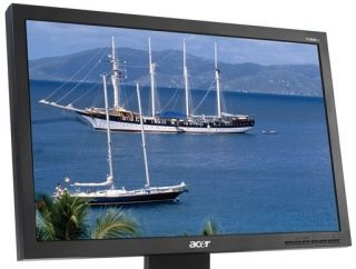 Acer V193W 19 1440 x 900 Widescreen Flat Panel LCD Monitor