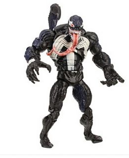 Spider Man Classic Heroes Venom Action Figure with Scorpio Stinger 6