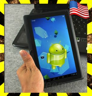 A13 Capacitive Multi Touch Android 4 ICS Black Mid Tablet PC