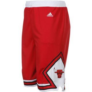 Adidas Chicago Bulls Youth Basketball Replica Shorts Red