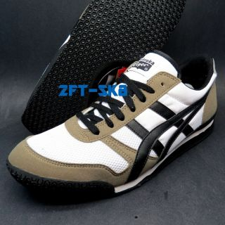 Asics Onitsuka Tiger Ultimate 81 Black White Sand Mens Casual Shoes