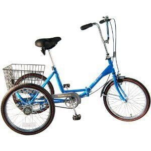 Worksman Trike Three Speed Adult Tricycle 3 Wheel Ride Comfort Cycle