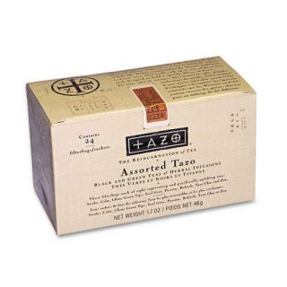 Tazo Asstorted Tea Chai Earl Grey 24 Pack