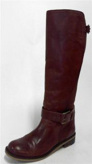 Lucky Brand Aida Womens Riding Boots Sz 8 5 M Sequoia Leather 1 1 4