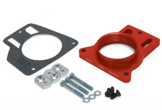 Airaid 200 512 1 Poweraid Throttle Body Spacer Avalanche Silverado