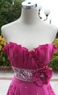 Paparazzi by Mori Lee $650 Rose Formal Prom Gown 2