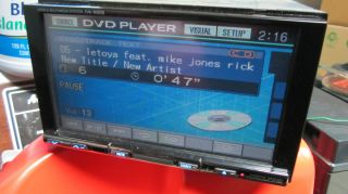 ALPINE iva w200 in dash dvd alpine remote  cd double din