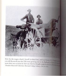 Theodore Teddy Roosevelt   Badlands BIG GAME WEST DAKOTA HUNTING BEARS