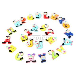 Magnetic Magnet 26 Alphabet Letters Learning Educational Toy