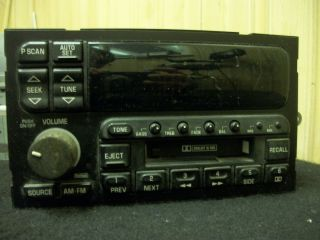 Stereo Radio AM FM Cassette Tape Player Buick Lesabre Park Avenue 1996