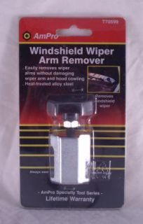 AMPRO T70599 WINDSHIELD WIPER ARM REMOVER TOOL