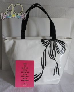 Kate Spade Brushstroke Bow Anabel Bag Tote Cute