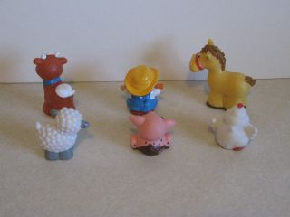 Little People Barn Farm Farmer Animals Chicken Pig Horse Sheep