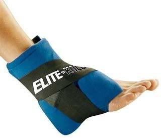 Elite Kold Swollen Ankle Foot Ice Cold Pain Relief Wrap