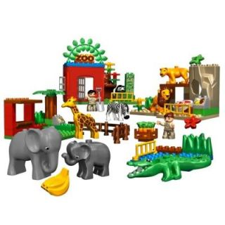 Lego Duplo Lego Ville Friendly Zoo Animals 4968 Dented