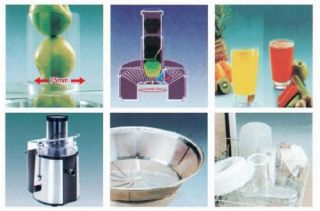 Andrew James Professional Stainless Steel Power Juicer