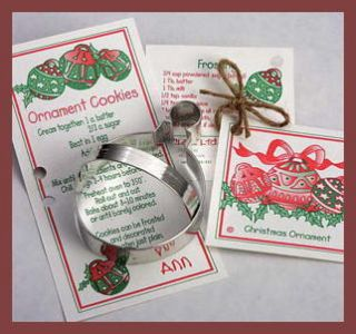 Ann Clark Christmas Ornament Tin Cookie Cutter Made in USA New Sale