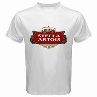 Stella Artois Beer Logo New White T Shirt