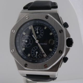 Audemars Piguet Royal Oak Offshore Mens Steel Chronograph Watch