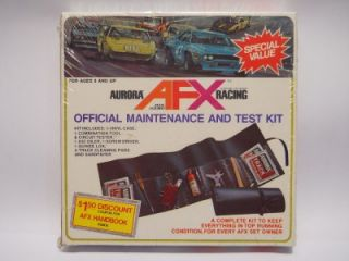 Aurora AFX Official Maintenance and Test Kit 2562 Never Opened