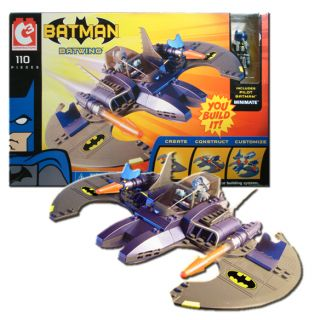c3 batwing with pilot batman minimate art asylum