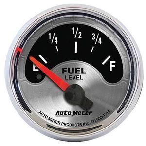 Auto Meter 1214 American Muscle 2 1 16 Short Sweep Electric GM Fuel