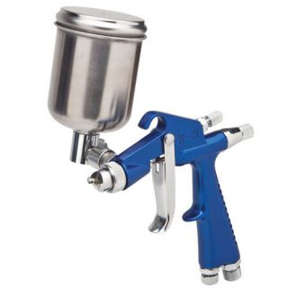 Gravity Feed Detail and Touch Up Car Spray Paint Gun 0 6 Needle Nozzle