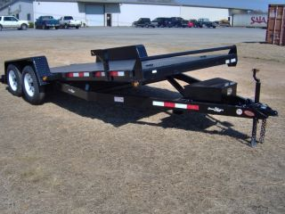 New 18 Electric Hydraulic Tilt Car Hauler Down to Earth Trailer Power