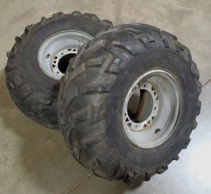 Polaris Diesel 4x4 ATV Rear Wheels Tires 335 500 Xplorer Sportsman
