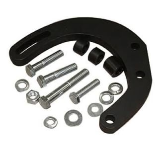 East Coast Auto Electric Alternator Bracket Billet Aluminum Black