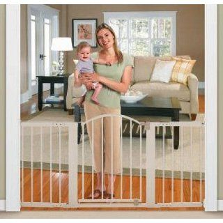 Infant Stylish n Secure 6 Foot Metal Expansion Gate ~~