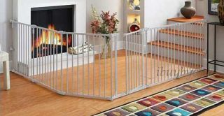 north states metal baby pet play yard gate superyard 4930 clever