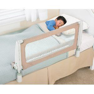 Safety 1st Secure Top Bed Rail 15 Inches High Beige Baby Child Kid