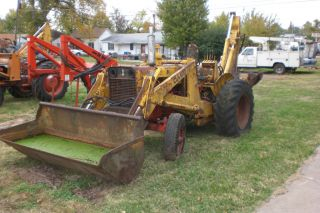 Case 580 CK Loader Backhoe for Parts or Repair