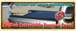 Bak Rollbak Retractable Tonneau Cover for 05 2012 Toyota Tacoma Double