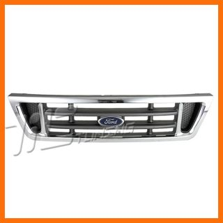 2003 2007 Ford Econoline Chrome Grille Grill Front Body Parts