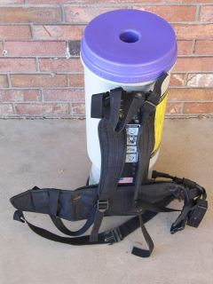 bag auction includes pro team super coach backpack vacuum cleaner sku