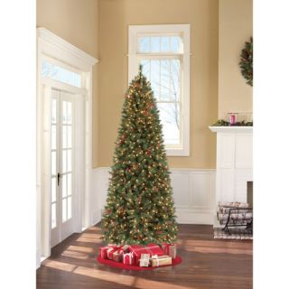 Holiday 9 ft Pre Lit Barrington Pine Artificial Christmas Tree Clear