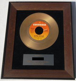 Barbra Streisand The Way We Were 1973 Columbia Gold 45 Record Award