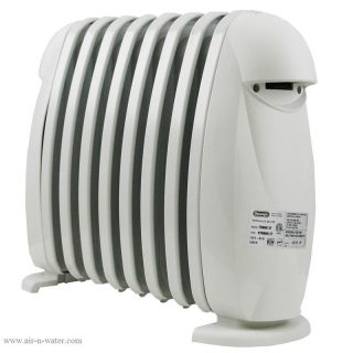 New DeLonghi TRN0812T 1200 w Electric Radiator Space Heater Portable